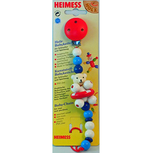 Wooden toys Heimess Himes pacifier holder / polar