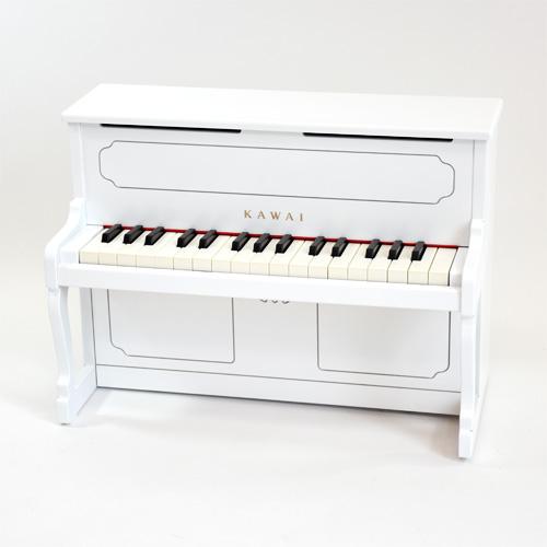 楽器玩具 ミニピアノ 河合 カワイアップライトピアノ ホワイト 木のおもちゃ 出産祝い お誕生日 3歳:男 お誕生日 3歳:女 【Y】【初節句 女の子】