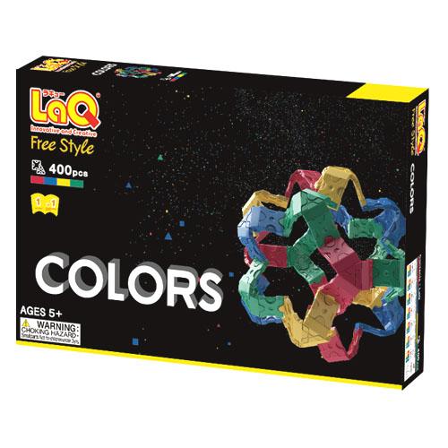 LaQ ( Raku ) / company philosophy colors ( colors ) 400 pcs