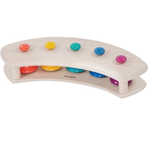 【木のおもちゃ】【楽器玩具】 パットベル シェルフ ペンタトニック プレイミー PlayMeToys 知育玩具 木製玩具 キッズコーナー キッズスペース お誕生日 出産祝い【Y】【kd】