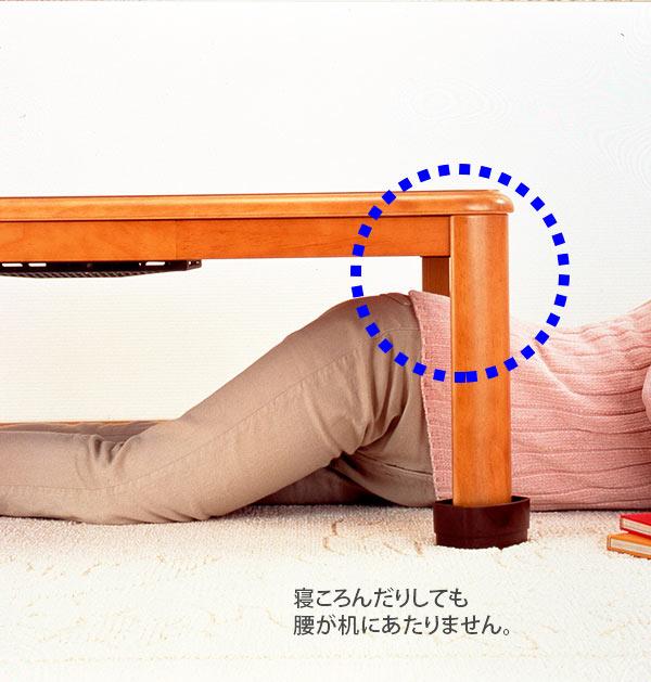 KIDS 継ぎ脚 4個組 SMILE スマイルキッズ 楽天 こたつの高さをあげる足 継ぎ足 4cm 4個セット こたつ テーブル 継脚 底上げ 高さ調整 高さ調節 座卓 机 座椅子 寝転ぶ こたつの足 楕円脚 楕円足 角脚 角足 丸脚