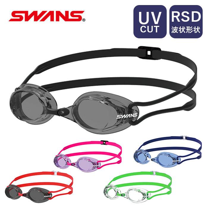 ゴーグル ついに入荷 水泳 水中眼鏡 メンズ レディース 水中メガネ 大人 SWANS スワンズ マーケティング スイミングゴーグル クリアレンズ Racing くもり止め プール UVカット SR-7N ノンクッション レーシングモデル