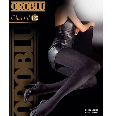 OROBLU CHANTAL 120 denier マイクロファイバータイツ Black Brown