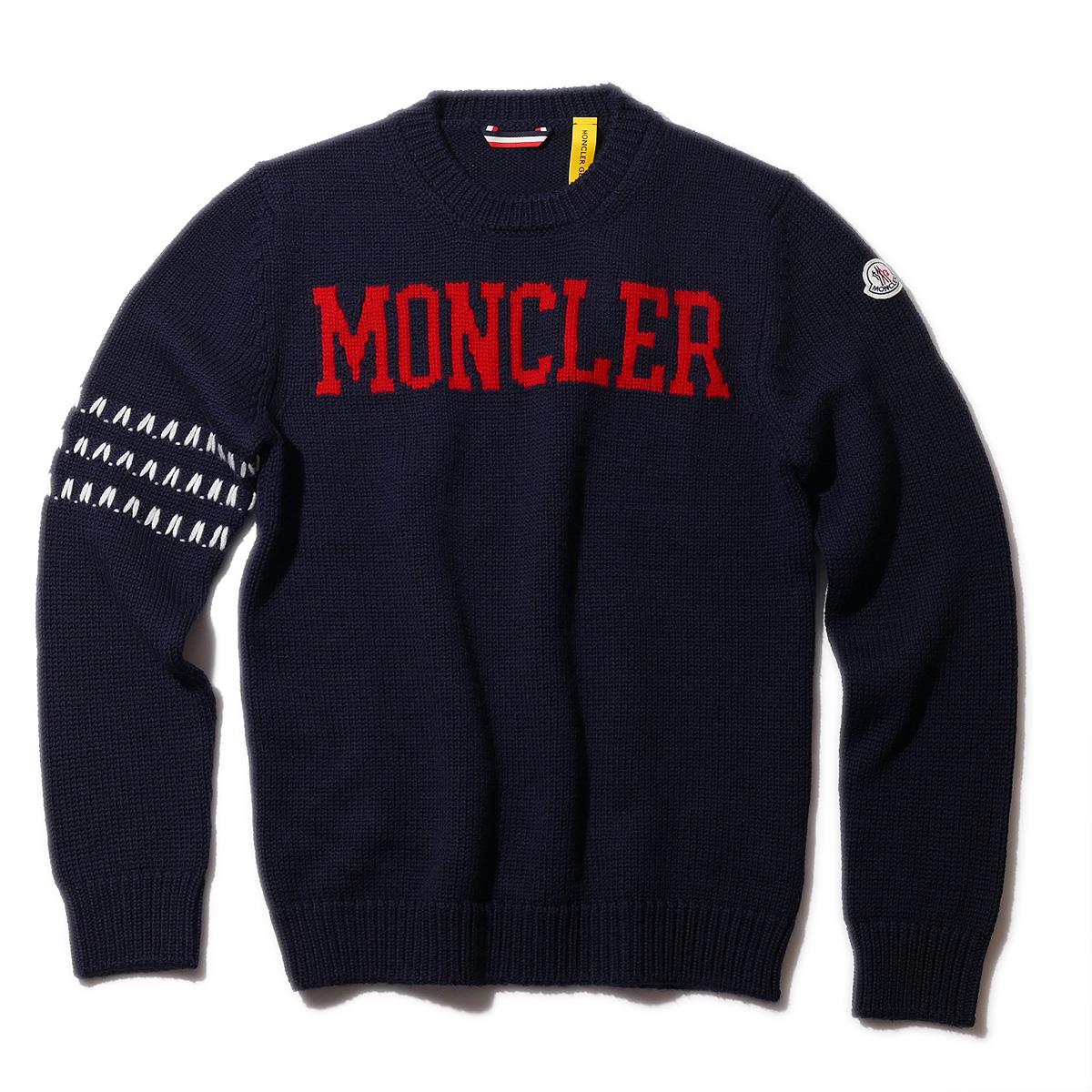 モンクレール ジーニアス クルーネックニット 2 MONCLER 1952 Geniusメンズ セーター【2018-19秋冬】