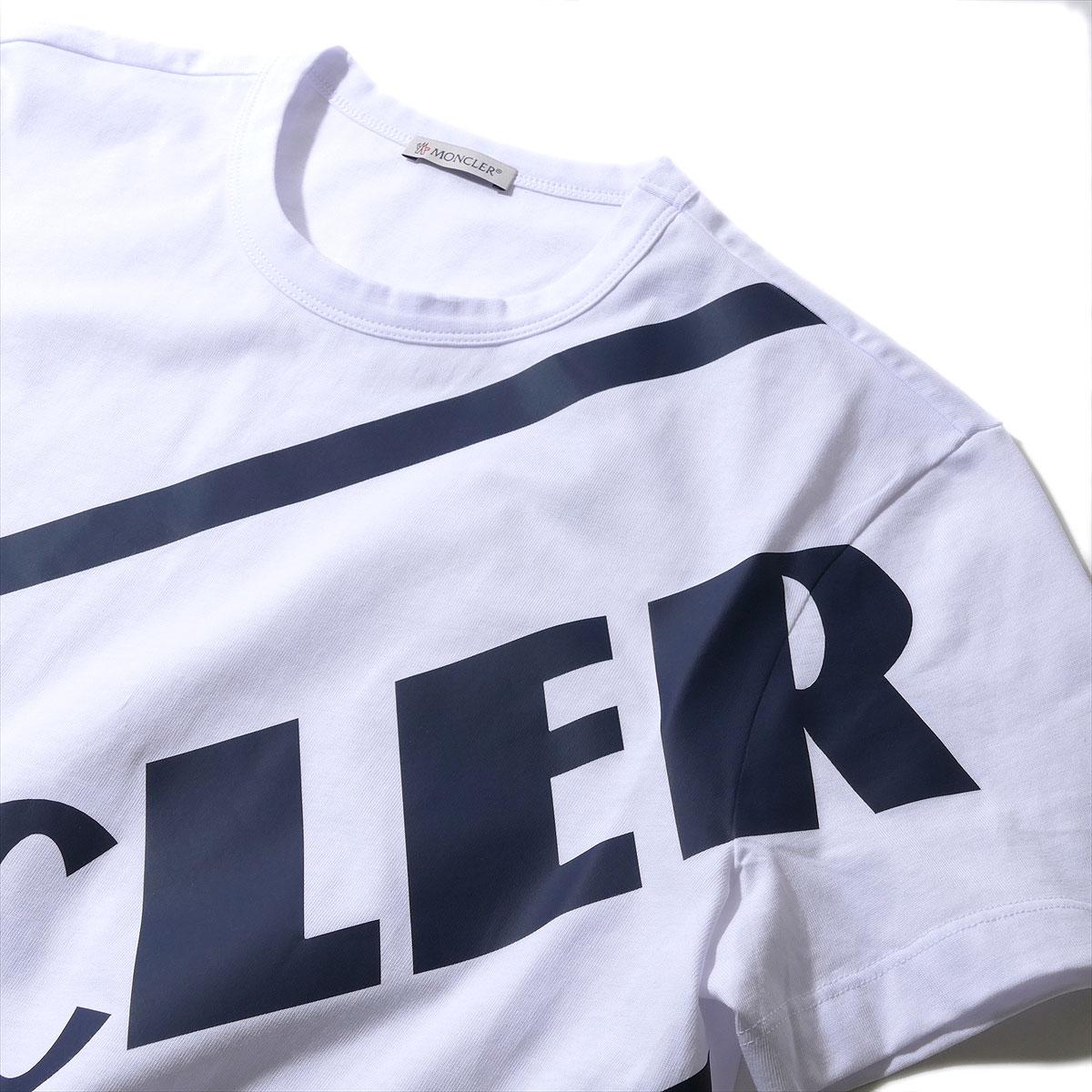 メーカー在庫限り品 送料無料 宅配便送料無料 モンクレール メンズ Tシャツ 8C70610 MONCLER ブランド 001ホワイト ギフト半袖