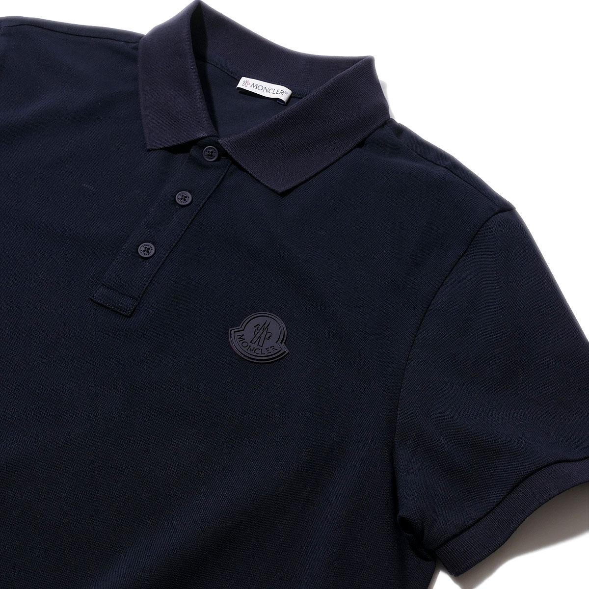 モンクレール ポロシャツ 8A71000 778ネイビー MONCLER メンズ 2020SS ブランド ギフト