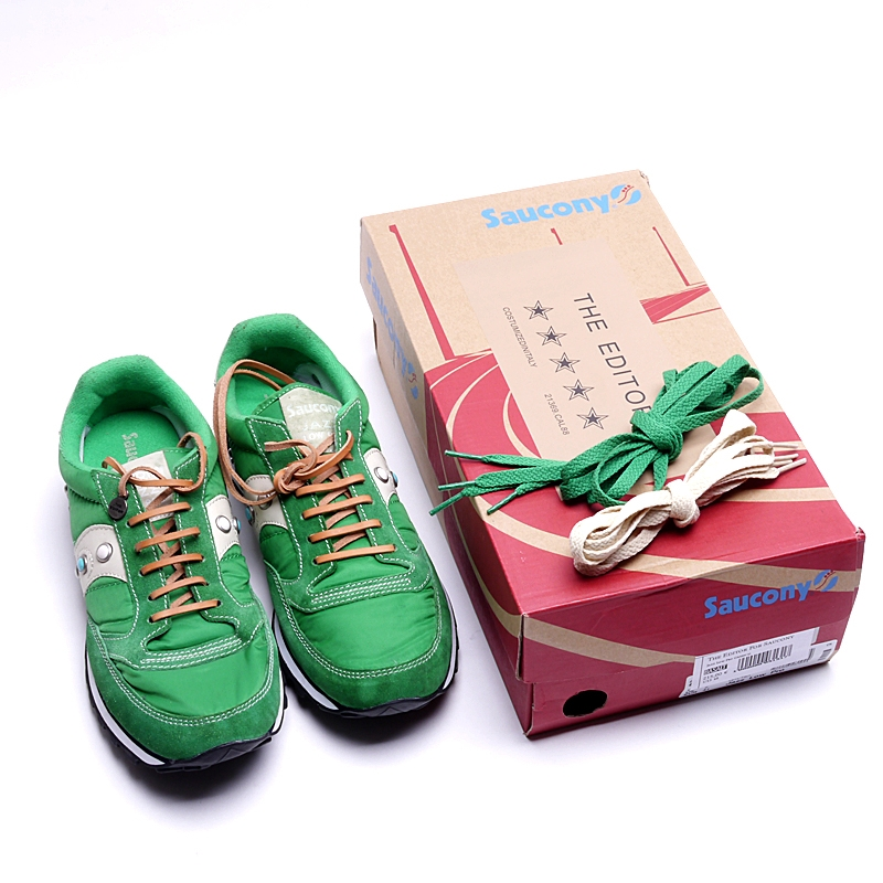 THE EDITOR×Saucony collaboration sneakers the editor x saucony