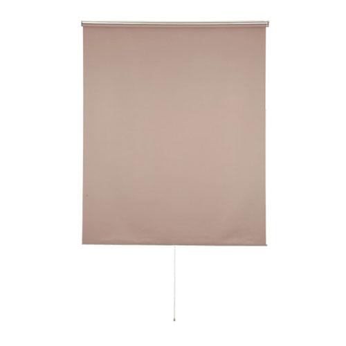 スクリーン ロールスクリーン カーテン ブラインド 間仕切り 日除け日よけ 和室洋室 サンシェード ロールアップ 無地 目隠し遮光 取り付け可ブラウン おしゃれ 1800×2290