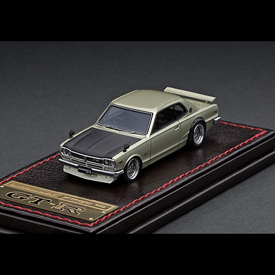 """出色 """"ハコスカのカスタムモデル"""" ignition model イグニッションモデル NISSAN SKYLINE 2000 IG2304 1 GT-R レビューを書けば送料当店負担 64 KPGC10"""