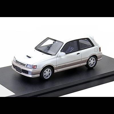 """奉呈 """"4代目スターレット"""" Hi-Story ハイ ストーリー TOYOTA STARLET GT 高級 43 1 TURBO 1989 HS315WG"""