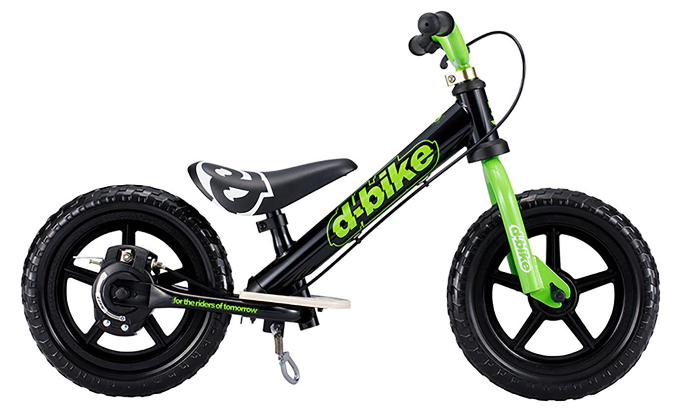 【送料無料】D-Bike KIX V(ブラック)Dバイク キックバイク バランスバイク