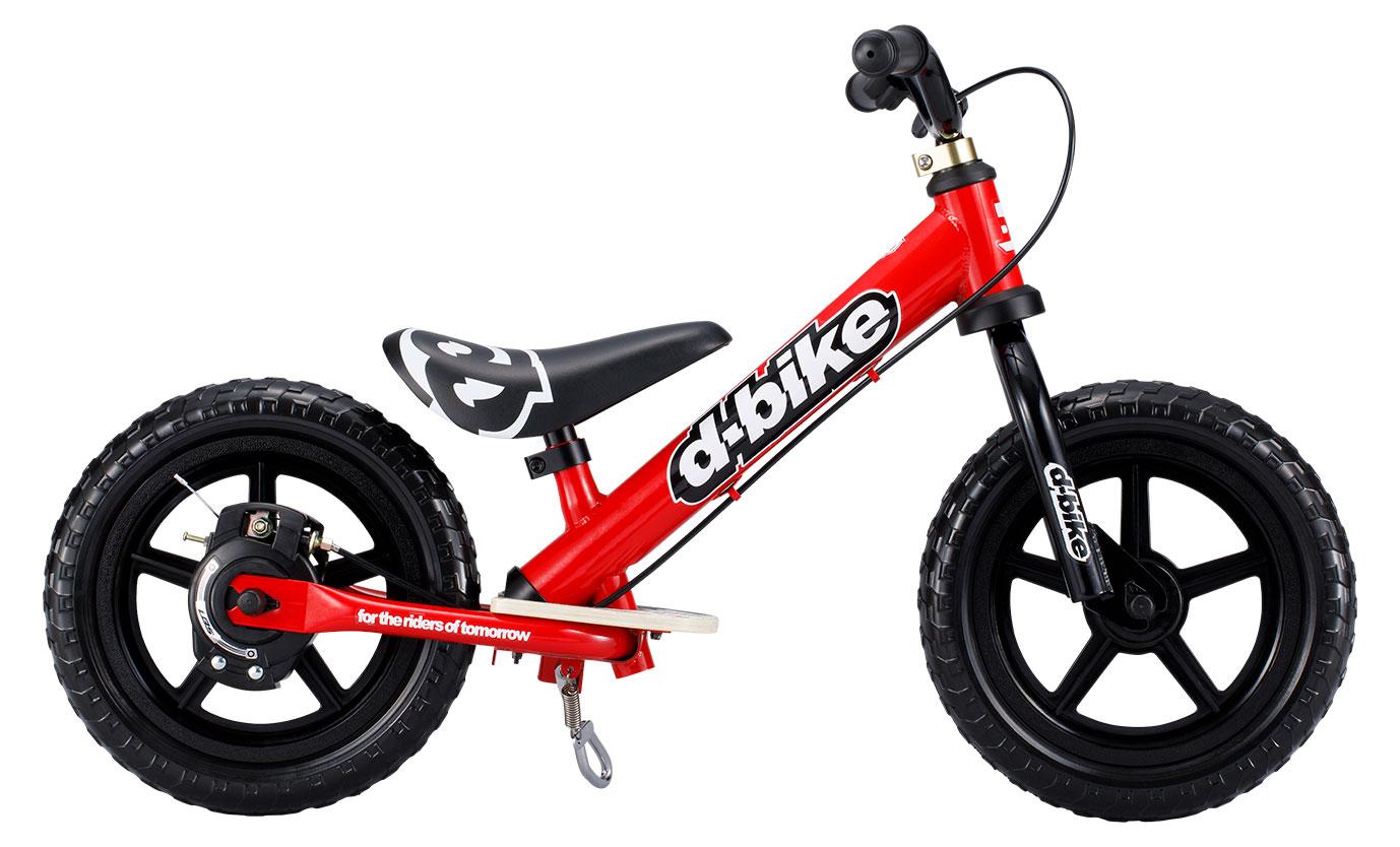 【送料無料】D-Bike KIX V(レッド)Dバイク キックバイク バランスバイク