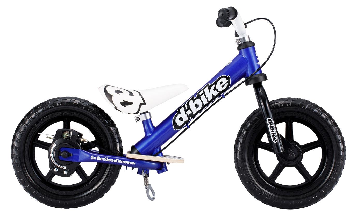 【送料無料】D-Bike KIX V(ネイビー)Dバイク キックバイク バランスバイク