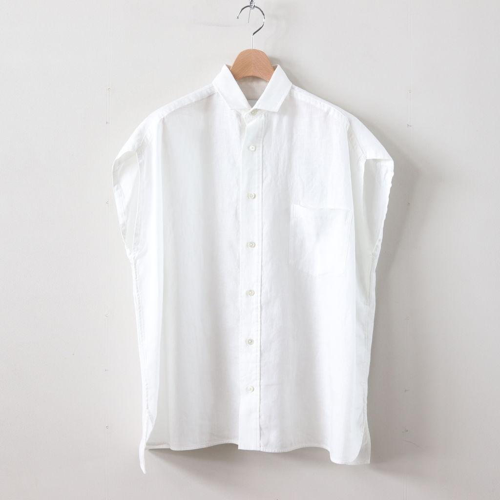 TICCA | ティッカ - フレンチスリーブシャツ #WHITE [TAIS-358]