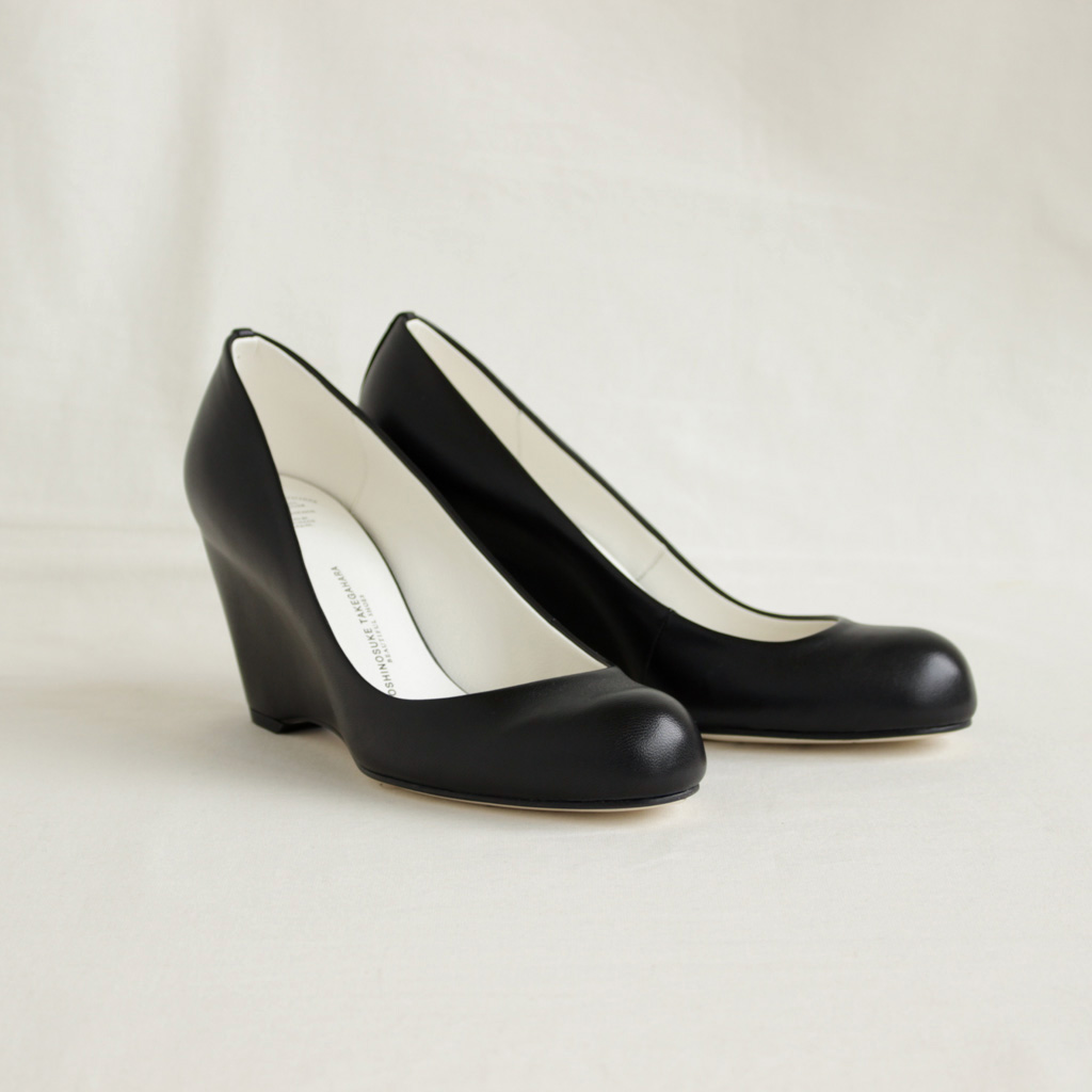 BEAUTIFUL SHOES | ビューティフルシューズ - HIGH ROUND MONOCROME #BLACK [BSS1712006]