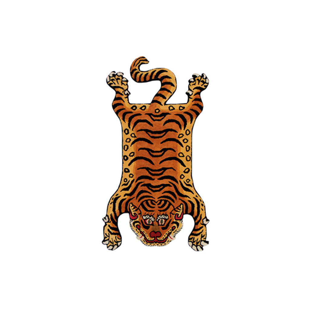 DETAIL INC. | ディテール - TIBETAN TIGER RUG DTR02/MEDIUM #ONE [331602M]