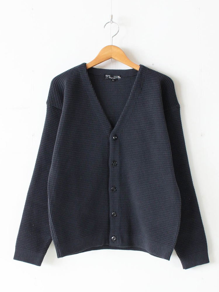 Nasngwam. | ナスングワム - SHED CARDIGAN #CHARCOAL [K2006202]