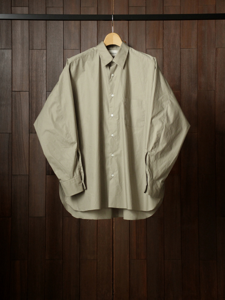 MARKAWARE COMFORT FIT SHIRT #SAGE GREEN