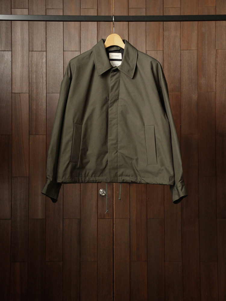MARKAWARE SPORTS JACKET #OLIVE METAL