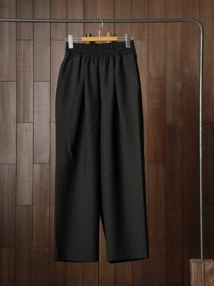 marka EASY WIDE PANTS #BLACK