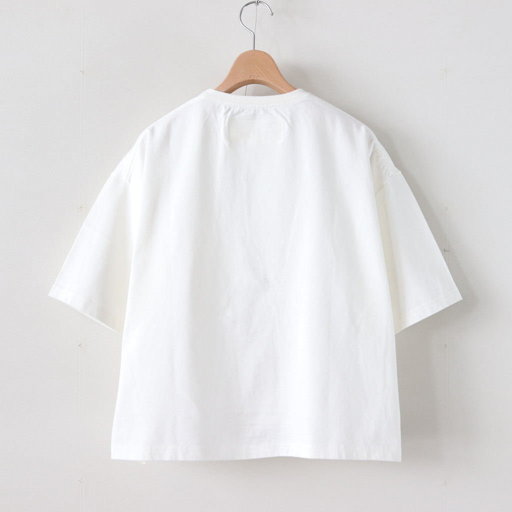 HARVESTYハーベスティDROPPED SHOULDER BOX T SHOFF WHITEA51903YWH29IDE