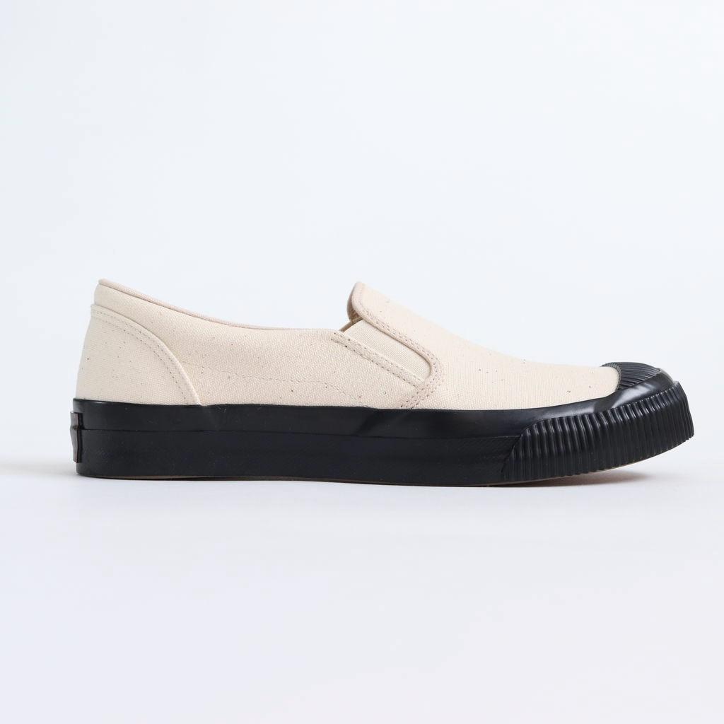 PRAS | プラス - SHELLCAP MOULD SLIP-ON #KINARI/BLACK [PRAS-06-002]