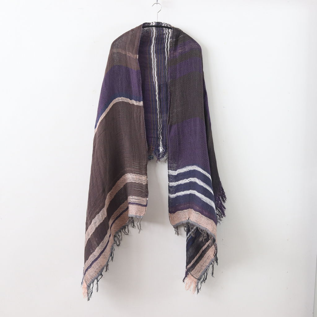 tamaki niime | 玉木新雌 - MOCOTTON SHAWL MIDDLE COTTON100% #ONLY ONE [20A031]