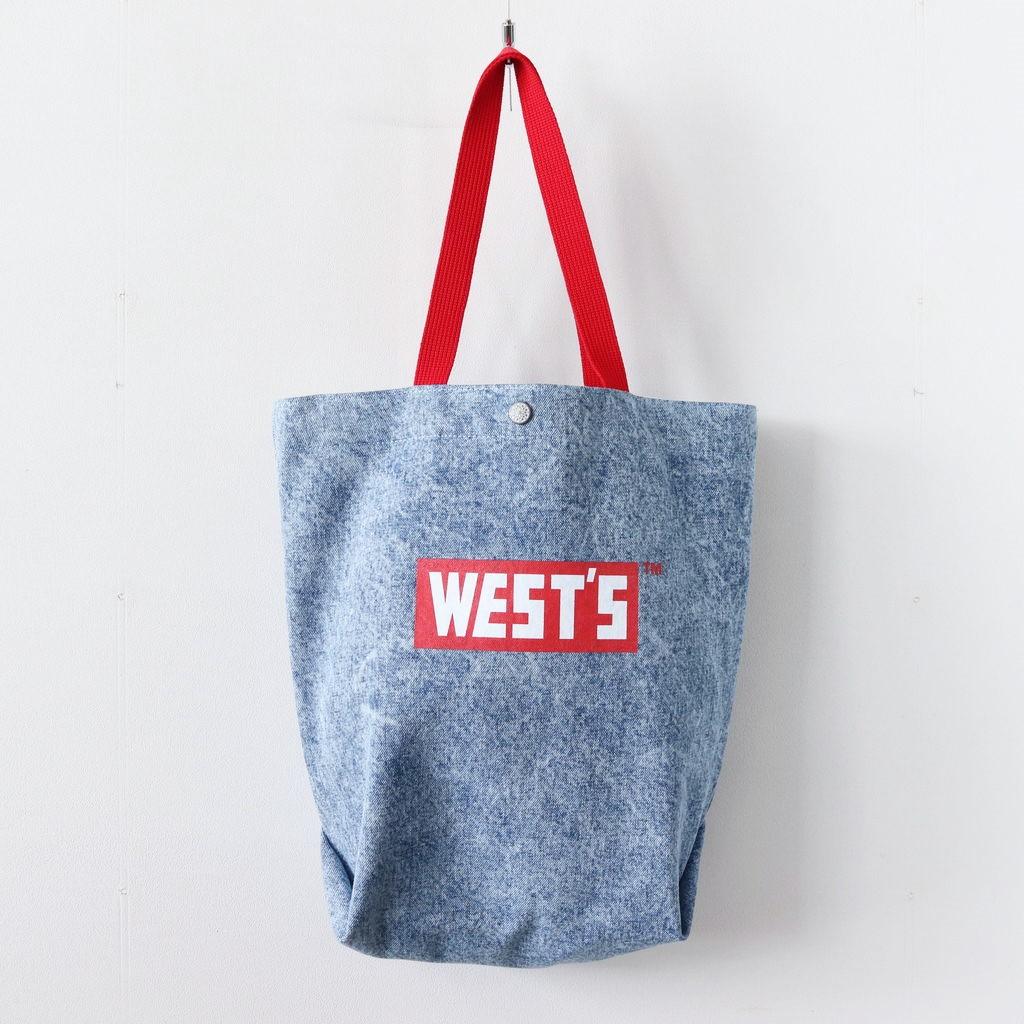 WESTOVERALLS | ウエストオーバーオールズ - WEST'S TOTE BAG #C.BLU [19SWBG01CM]
