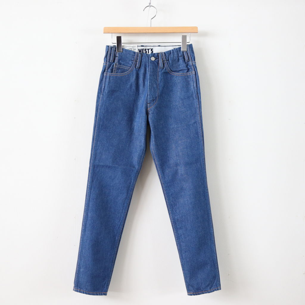 WESTOVERALLS | ウエストオーバーオールズ - 805T DENIM SLIM TAPERED #ONEWASH [19SWPT05A]