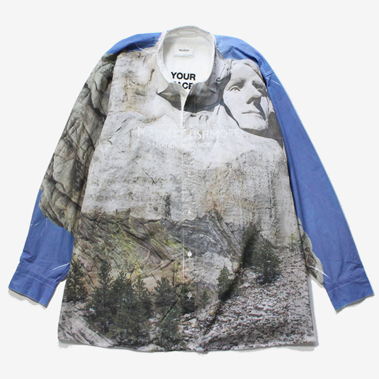 FACEOUT doublet #RUSHMORE - SHIRT ダブレット | TOURIST