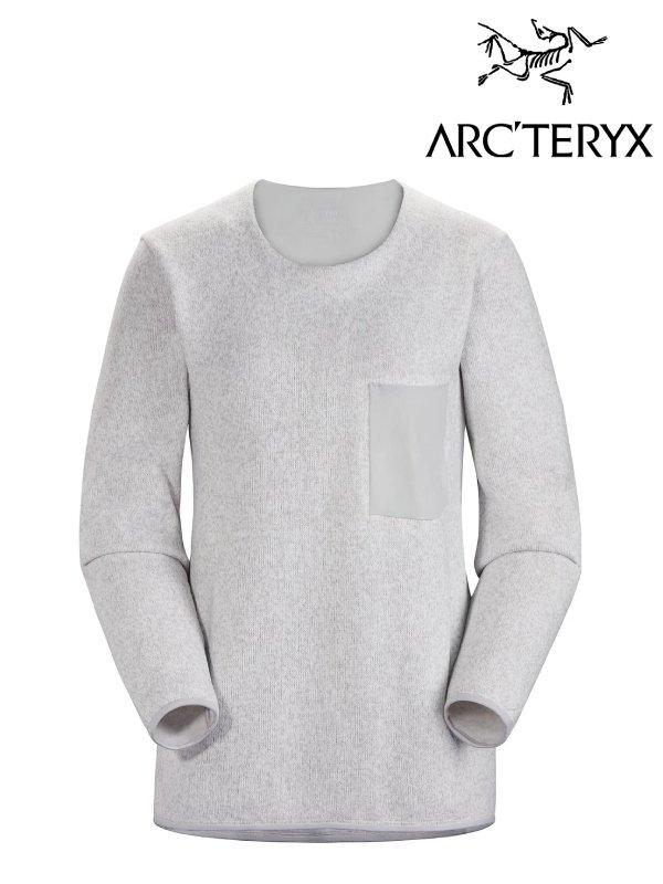 正規品 ウールセーター 再入荷 予約販売 レディース カジュアル ARC'TERYX 配送員設置送料無料 アークテリクス Women's Covert セーター Sweater コバート 24101 Heather #Solitude L07691900