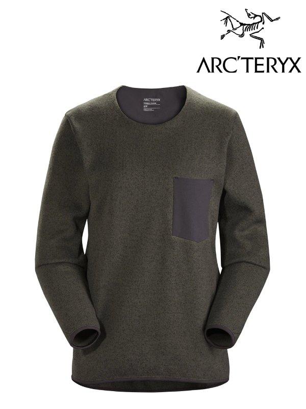 正規品 ウールセーター レディース カジュアル ARC'TERYX メーカー直売 アークテリクス Women's 期間限定送料無料 Covert セーター 24101 コバート Heather L07701200 Sweater #Moonshadow