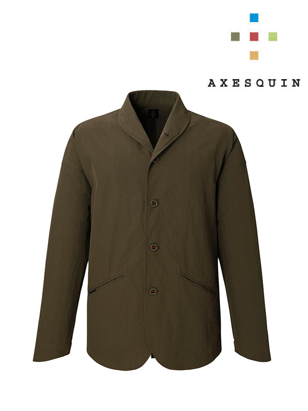 AXESQUIN アクシーズクイン|ヤマニノボッタカモシレナイ soft shell #K44 憲法色 [AS1183]