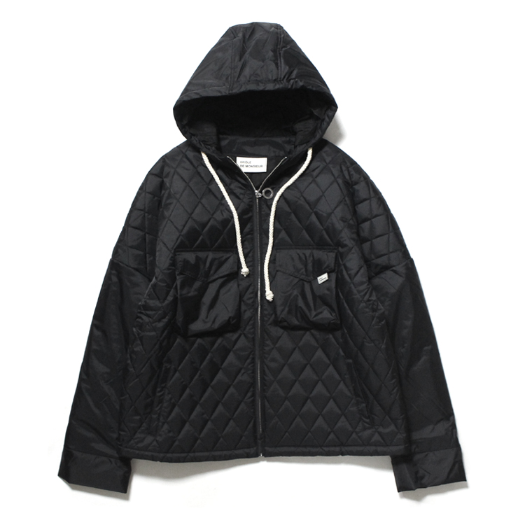 Drole de Monsieur   ドロールドムッシュ - Quilted Patch Pocket blouson #BLACK