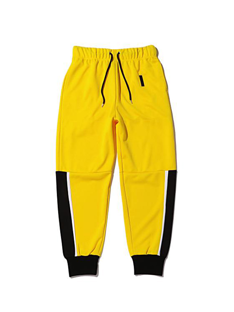 FULL-BK | フルビーケー - DANCE ENERGY PANTS #YELLOW