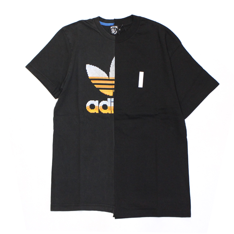 FULL-BK | フルビーケー - SYSTEMS USED REMIX TEE #TREFOIL