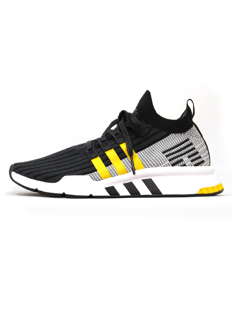 reputable site 27470 c6b15 adidas Originals EQT SUPPORT MID ADV PK #BLK-YLW 130443167