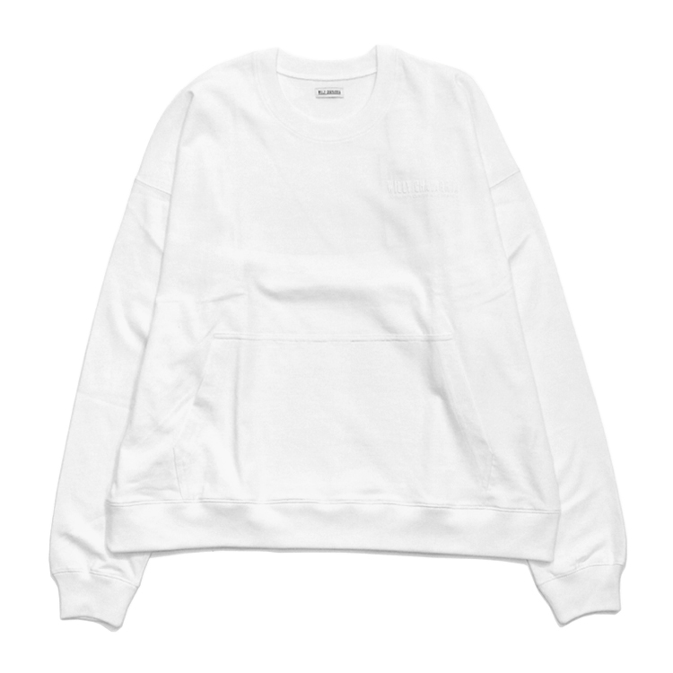 WILLY CHAVARRIA | ウィリーチャバリア - LS GUSSET BUFFALO T #OFF WHITE