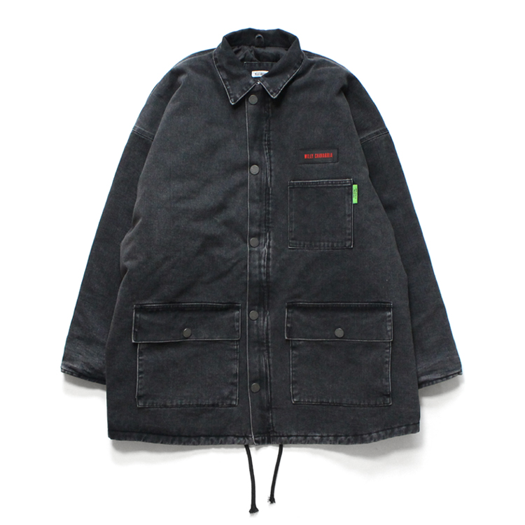 WILLY CHAVARRIA | ウィリーチャバリア - DIRTY WILLY MONSTER WORK JACKET #BLACK