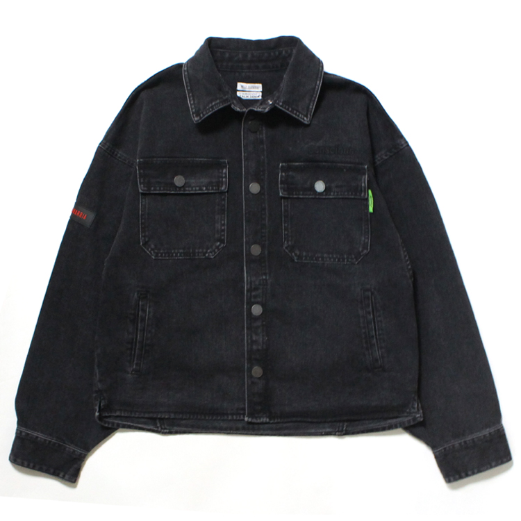 WILLY CHAVARRIA | ウィリーチャバリア - DIRTY WILLY WORK JACKET #BLACK