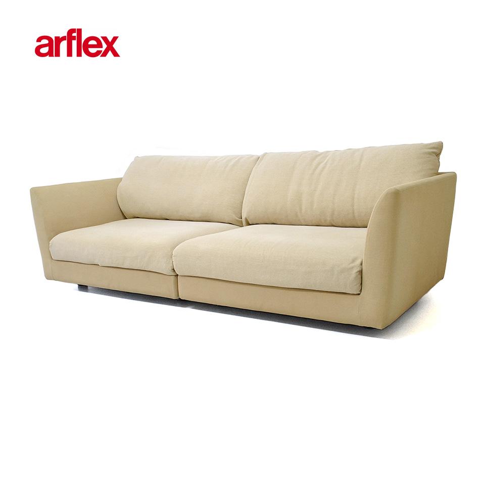 【 中古 】『展示品』ARFLEX A・SOFA 4P (アルフレックス 4人掛けアームソファ)