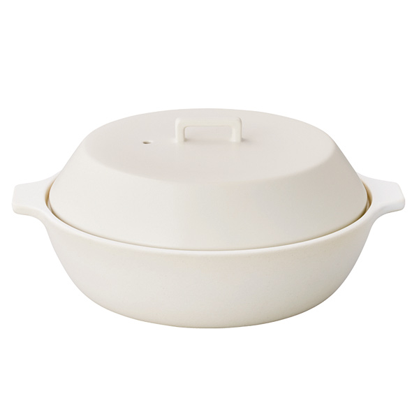 土鍋 KAKOMI カコミ 2.5L IH対応 陶器製 一人暮らし ひとり 一人 二人暮らし