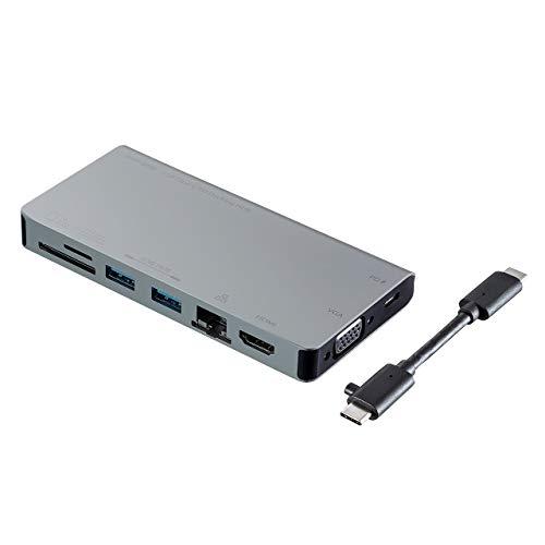 サンワサプライ 優先配送 USB Type-C メーカー公式 USB-3TCH13S ドッキングハブ