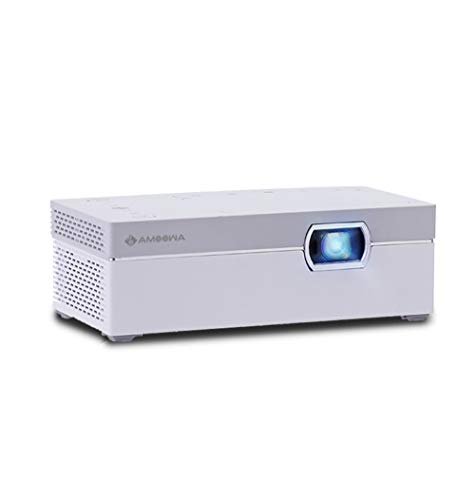 AMOOWA DLP小型プロジェクター ポータブルWIFI機能支持 200