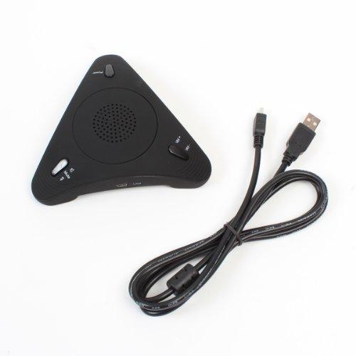 スピーカーフォン 即出荷 サンコー 会議で使える USBSKPMT 人気ブランド多数対象 みんなで話す蔵 Skypeスピーカーフォン