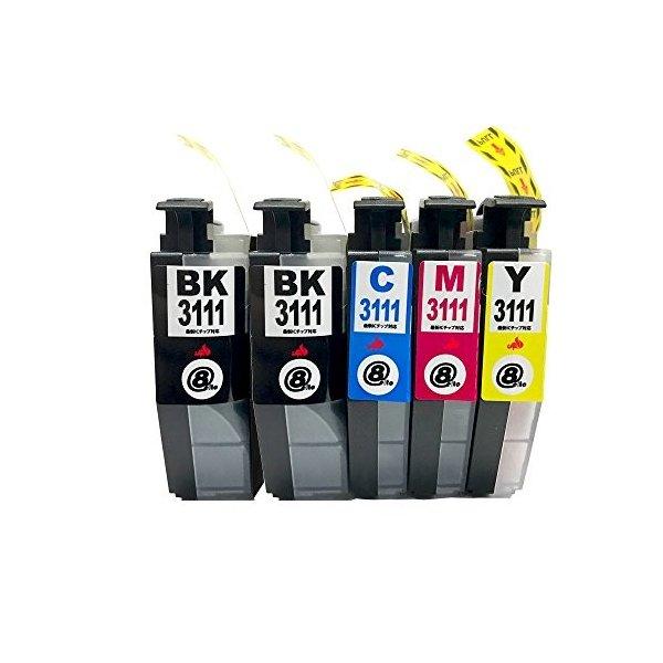 エレスタ brother ブラザー LC3111-4PK 互換インクカートリッジ ICチップ付 4色 通常便なら送料無料 セール特価品 LC3111