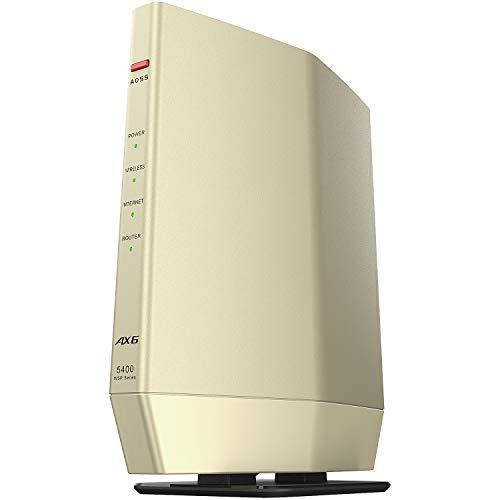 バッファロー WiFi 時間指定不可 ルーター無線LAN 最新規格 Wi-Fi6 4803+574Mbps 11ax お中元 AX5400 11ac