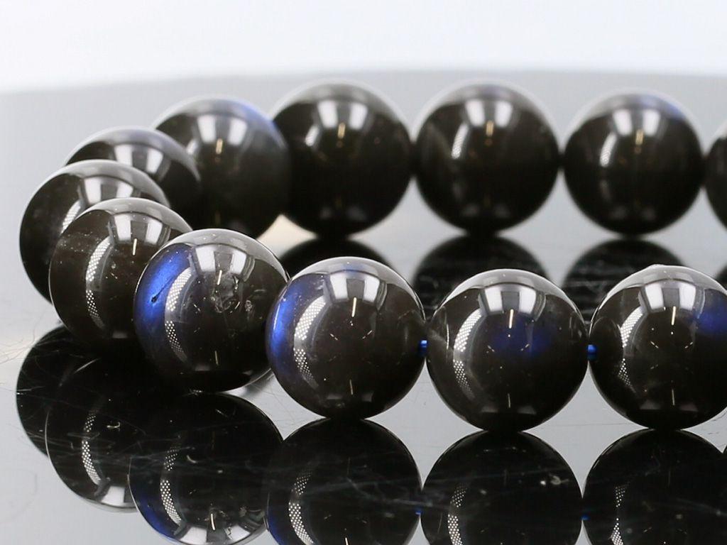 ブラックラブラドライト ブレスレット ブレスレット 10.5mm玉 天然石 No.8 パワーストーン パワーストーン 天然石 フォレストブルー, 福山市:917f53e6 --- sunward.msk.ru