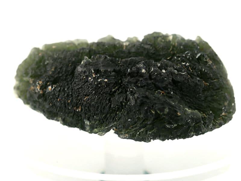 モルダバイト 原石 No.8 (鑑別書付) パワーストーン 天然石 【画像現物】