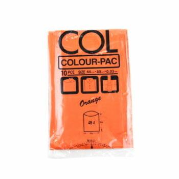 カラーパック45L オレンジ 300枚入